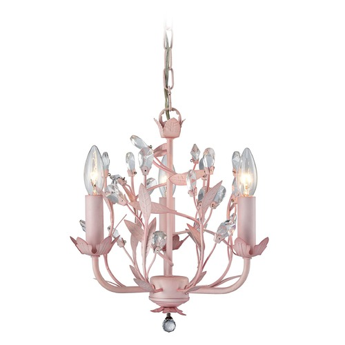 Elk Lighting Elk Lighting Circeo Light Pink Mini-Chandelier 18152/3