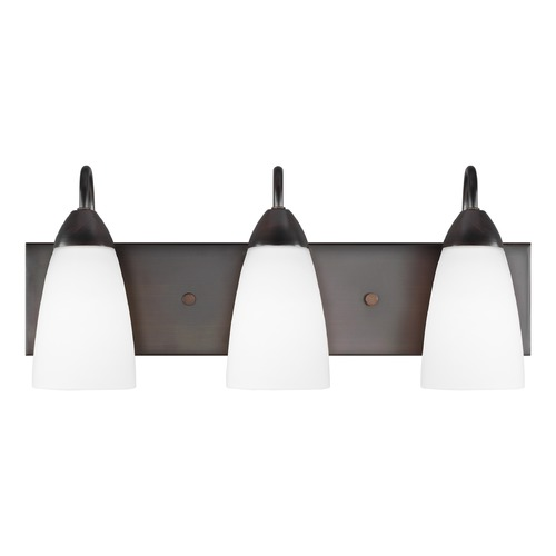Sea Gull Lighting Sea Gull Lighting Seville Burnt Sienna LED Bathroom Light 4420203EN3-710