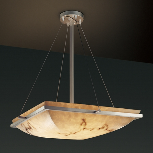 Justice Design Group Justice Design Group Lumenaria Collection Pendant Light FAL-9791-25-NCKL