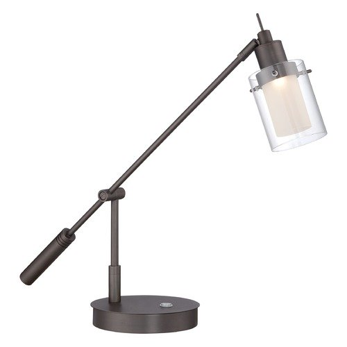 George Kovacs Lighting George Kovacs George's Reading Room Copper Bronze Patina LED Task / Reading Lamp P4516-647