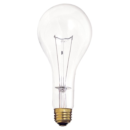 Satco Lighting Incandescent PS25 Light Bulb Medium Base 2900K Dimmable S4959