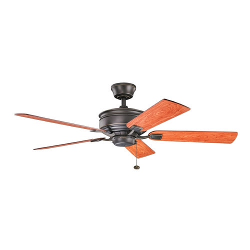 Kichler Lighting Kichler Lighting Duval Olde Bronze Ceiling Fan Without Light 300178OZ