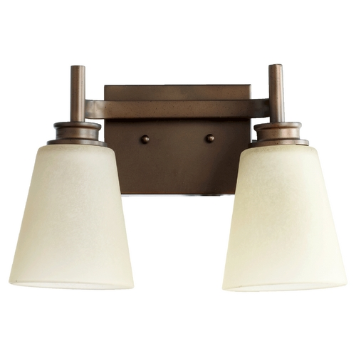 Quorum Lighting Quorum Lighting Chateaux Oiled Bronze Bathroom Light 5002-2-86
