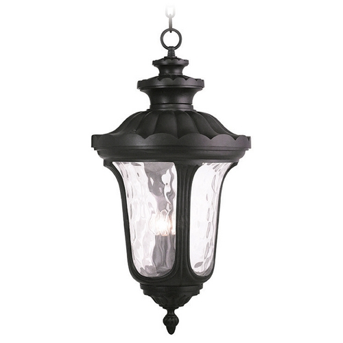 Livex Lighting Livex Lighting Oxford Black Outdoor Hanging Light 78703-04
