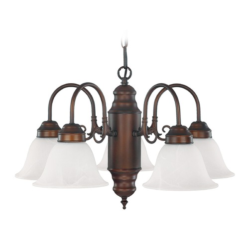 Capital Lighting Capital Lighting Burnished Bronze Chandelier 3255BB-118