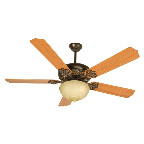 Craftmade Lighting Craftmade Lighting Cecilia Unipack Oiled Bronze Gilded Ceiling Fan with Light K10619