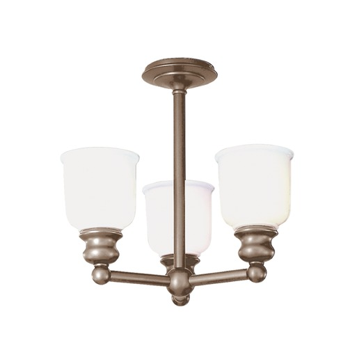 Hudson Valley Lighting Hudson Valley Lighting Riverton Antique Nickel Semi-Flushmount Light 2313F-AN