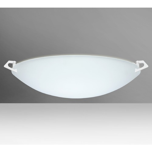Besa Lighting Besa Lighting Sonya White Flushmount Light 841825-WH