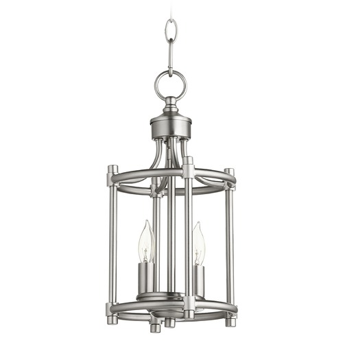 Quorum Lighting Quorum Lighting Rossington Satin Nickel Pendant Light 6822-2-65