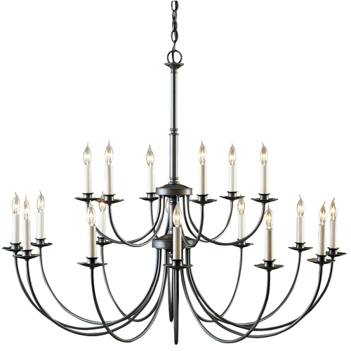 Hubbardton Forge Lighting Eighteen-Light Chandelier 19714418LC-20