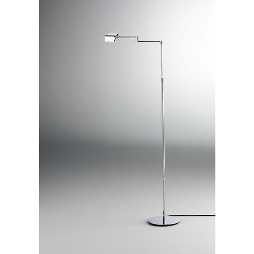 Holtkoetter Lighting Holtkoetter Modern LED Swing Arm Lamp in Chrome Finish 9680LEDP1 CH