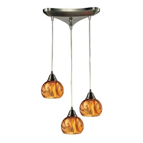 Elk Lighting Multi-Light Pendant Light 3-Lights 10395/3
