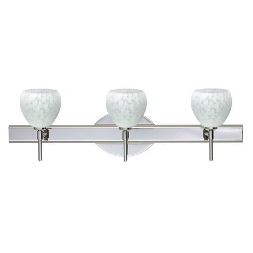 Besa Lighting Besa Lighting Tay Chrome Bathroom Light 3SW-560519-CR