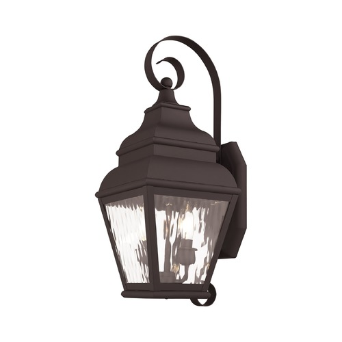 Livex Lighting Livex Lighting Exeter Bronze Outdoor Wall Light 2602-07