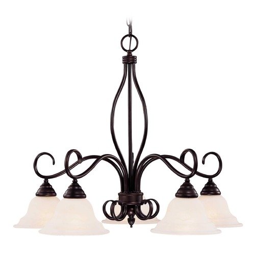 Savoy House Savoy House English Bronze Chandelier KP-101-5-13