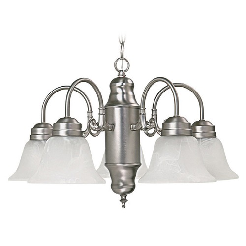 Capital Lighting Capital Lighting Matte Nickel Chandelier 3255MN-118