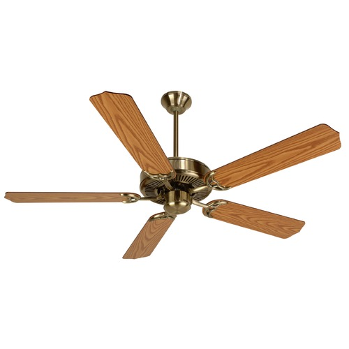 Craftmade Lighting Craftmade Pro Builder Antique Brass Ceiling Fan Without Light K10620