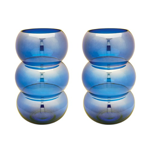 Dimond Lighting Cobalt Ring Votive - Set Of 2 464075/S2