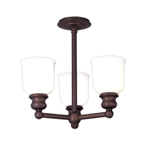 Hudson Valley Lighting Hudson Valley Lighting Riverton Old Bronze Semi-Flushmount Light 2313F-OB
