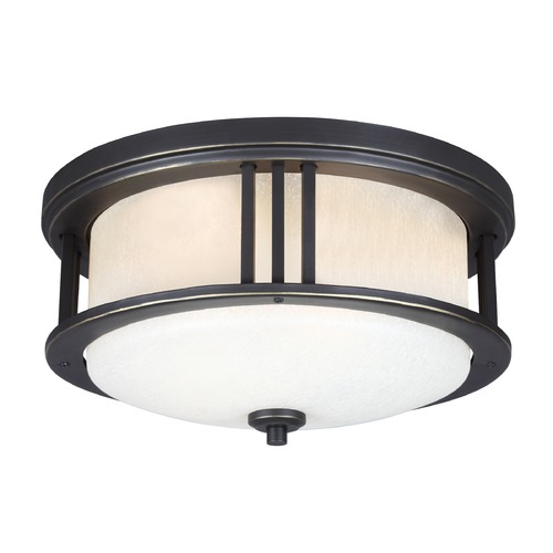 Sea Gull Lighting Sea Gull Crowell Antique Bronze LED Close To Ceiling Light 7847991S-71