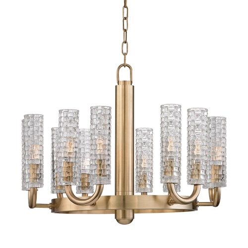 Hudson Valley Lighting Hudson Valley Lighting Dartmouth Aged Brass Chandelier 8012-AGB