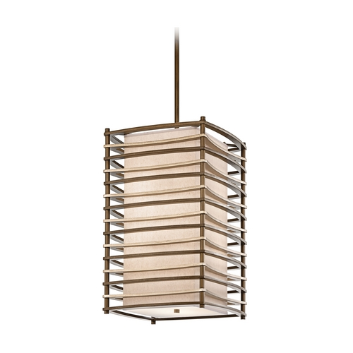 Kichler Lighting Kichler Modern Pendant Light in Bronze Finish 42073CMZ