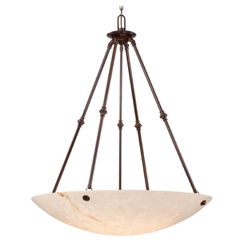 Metropolitan Lighting Metropolitan Virtuoso 11 Bronze Patina Pendant Light N3706-BP