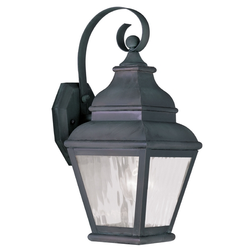 Livex Lighting Livex Lighting Exeter Charcoal Outdoor Wall Light 2601-61