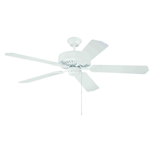 Craftmade Lighting Craftmade Pro Builder White Ceiling Fan Without Light K10621