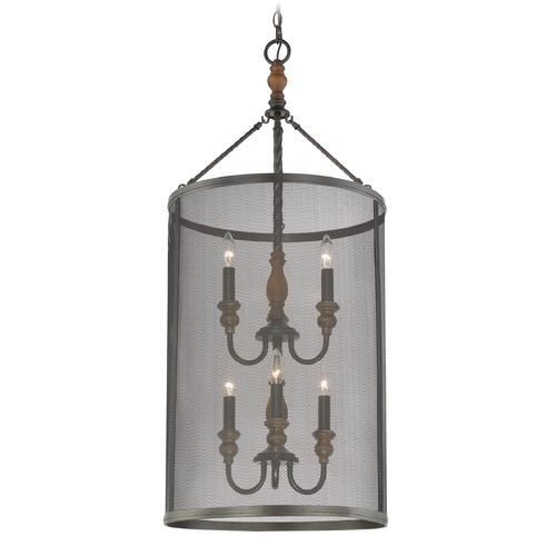 Quoizel Lighting Quoizel Lighting Odell Imperial Bronze Pendant Light ODL5206IB