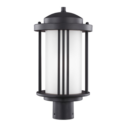 Sea Gull Lighting Sea Gull Crowell Black Post Light 8247901-12