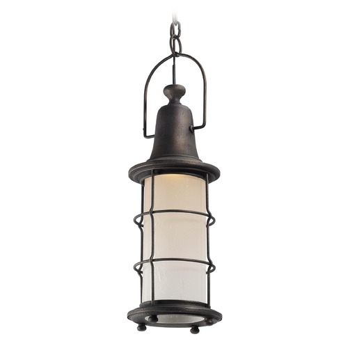 Troy Lighting Troy Lighting Maritime Vintage Bronze Outdoor Hanging Light F4447