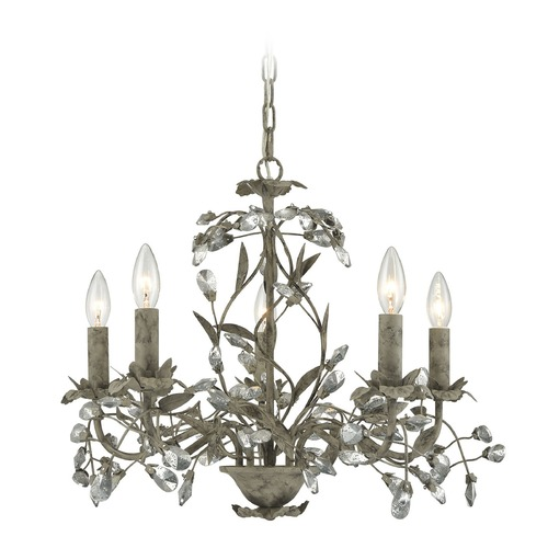 Elk Lighting Elk Lighting Circeo Marble Gray Mini-Chandelier 18163/5