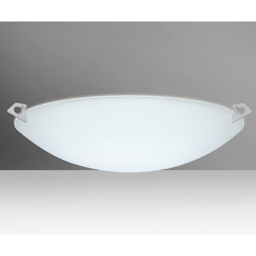 Besa Lighting Besa Lighting Sonya Satin Nickel Flushmount Light 841925-SN