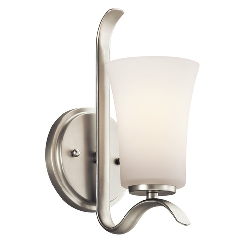 Kichler Lighting Kichler Lighting Armida Brushed Nickel LED Sconce 45374NIL16
