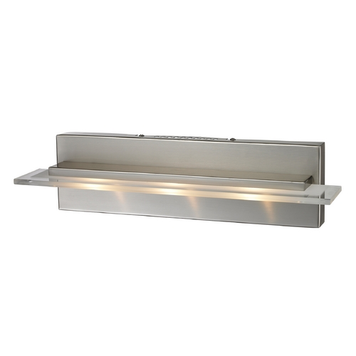 Elk Lighting Modern LED Bathroom Light in Satin Nickel Finish 81072/3