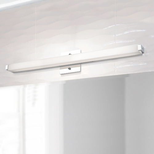 Kuzco Lighting Chrome LED Bath Light Vertical \ Horizontal 26.5-Inch by Kuzco Lighting VL4725-CH