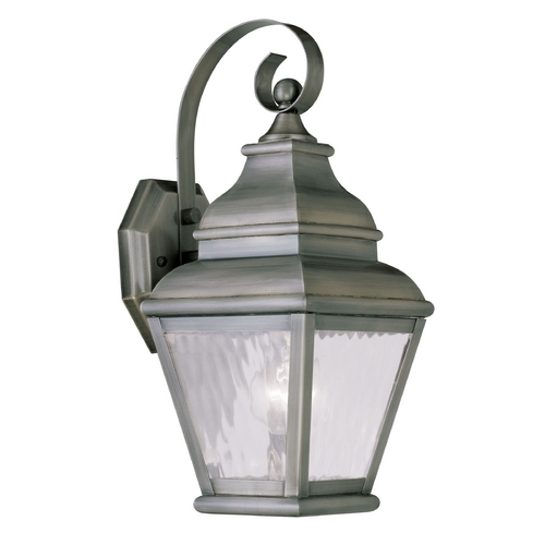 Livex Lighting Livex Lighting Exeter Vintage Pewter Outdoor Wall Light 2601-29