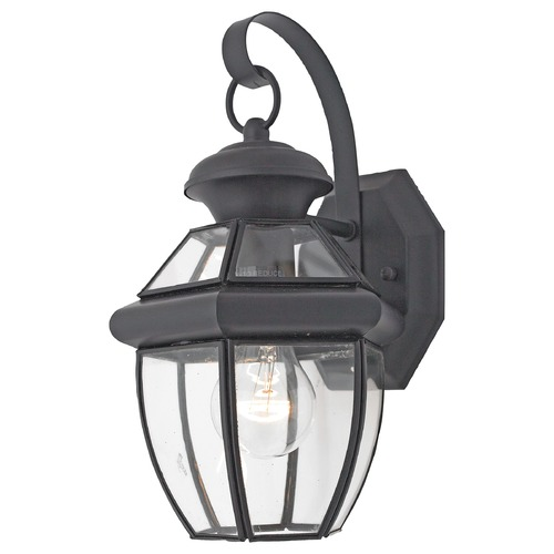 Quoizel Lighting Quoizel Newbury Mystic Black Outdoor Wall Light NY8315KFL