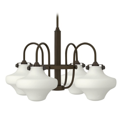 Hinkley Lighting Hinkley Lighting Congress Oil Rubbed Bronze Chandelier 3045OZ