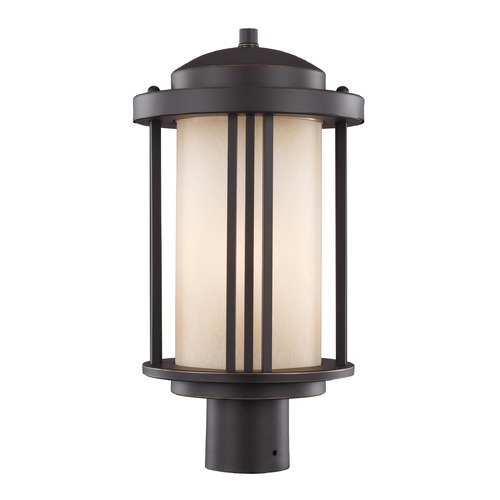 Sea Gull Lighting Sea Gull Crowell Antique Bronze Post Light 8247901-71