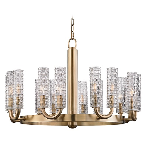 Hudson Valley Lighting Hudson Valley Lighting Dartmouth Aged Brass Chandelier 8016-AGB