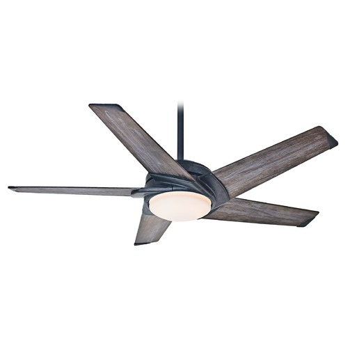 Casablanca Fan Co Casablanca 59093 Stealth Aged Steel LED Ceiling Fan with Light 59093