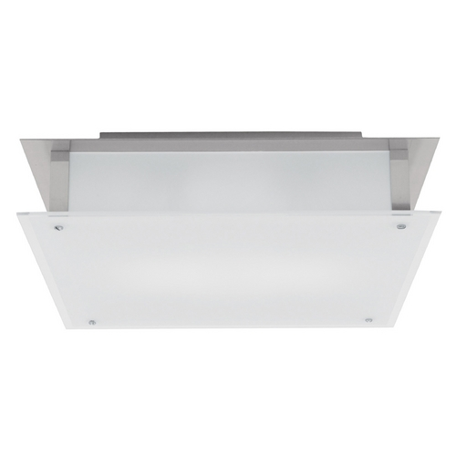 Access Lighting Access Lighting Vision Brushed Steel LED Flushmount Light 50035LEDD-BS/FST