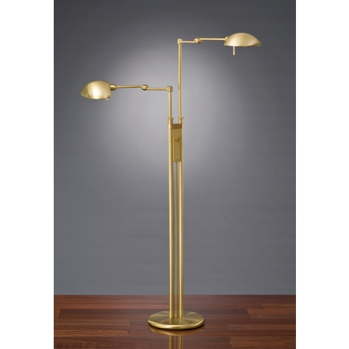 Holtkoetter Lighting Holtkoetter Modern Floor Lamp in Antique Brass Finish 2505 AB