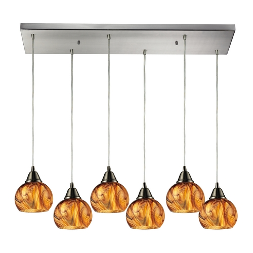 Elk Lighting Multi-Light Pendant Light 6-Lights 10395/6RC
