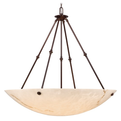 Metropolitan Lighting Metropolitan Virtuoso 11 Bronze Patina Pendant Light N3708-BP