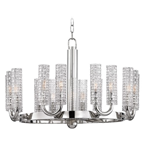 Hudson Valley Lighting Hudson Valley Lighting Dartmouth Polished Nickel Chandelier 8016-PN