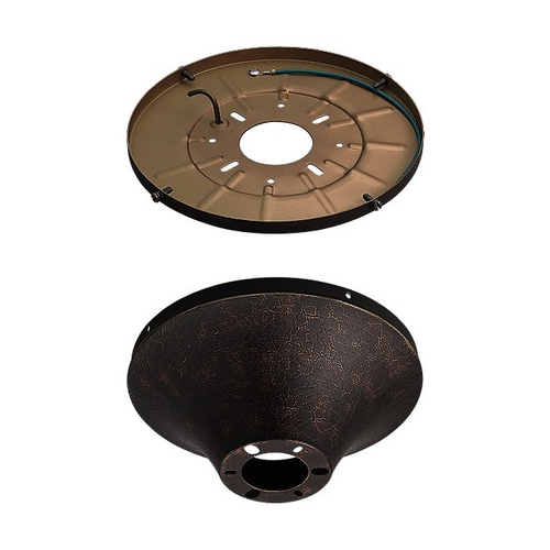Monte Carlo Fans Ceiling Adaptor in Tuscan Bronze Finish MC192TB