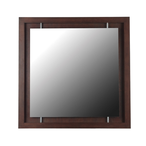 Kenroy Home Lighting Potrero Square 33.75-Inch Mirror 60031